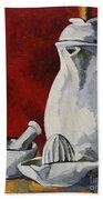 Apilco No. 4 Bath Towel by Erin Fickert-Rowland