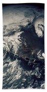 Apollo 16: Earth Hand Towel