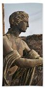 Apollo In Pompeii Bath Towel