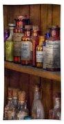Apothecary - Inside The Medicine Cabinet  Bath Towel