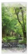 Appalachian Creek Bath Towel