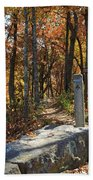 Appalachian Trail In Shenandoah National Park Bath Towel