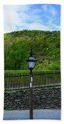 Appalachian Trail In West Virginia Goes Through Harpers Ferry Bath Towel
