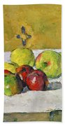 Apples And Biscuits Bath Towel