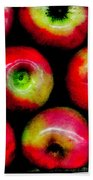 Apples Bath Towel