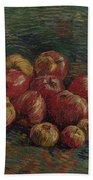 Apples Paris, September - October 1887 Vincent Van Gogh 1853 - 1890 Bath Towel