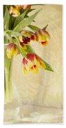 April Flowers Bath Towel
