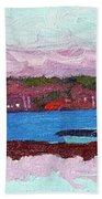 April Sunrise Singleton Hand Towel