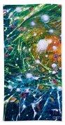 Aquarium Galaxy Bath Towel