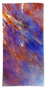 Australian Desert From Space Bath Towel