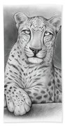 Arabian Leopard Bath Towel