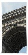 Arc De Triomphe, Paris, France Bath Towel