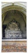 Arch At Fontevraud Abbey  Bath Towel