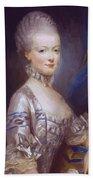 Archduchess Maria Antonia Of Austria 1769 Bath Towel
