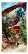 Arches National Park Trail Bath Towel