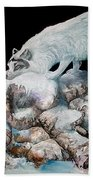 Arctic Encounter Bath Towel