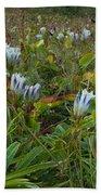 Arctic Gentian Blooming In The Alpine Bath Towel