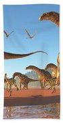 Argentinosaurus Herd Bath Towel