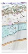 Arial Skates Pools Bath Towel
