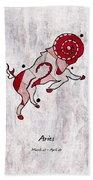 Aries Artwork Hand Towel