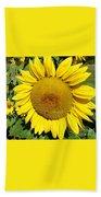 Arikara Sunflower Bath Towel
