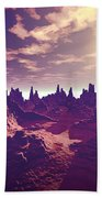 Arizona Canyon Sunshine Hand Towel