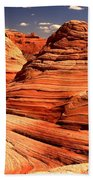 Arizona Desert Landscape Bath Towel