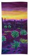 Arizona Landscape Bath Towel