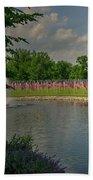 Arlington Memorial Gardens Bath Towel