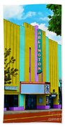 Arlington Theatre Bath Towel