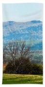 Aroostook Landscape Bath Towel