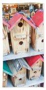 Array Of Handmade Birdhouses For Sale Bath Towel
