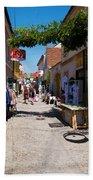 Art Street In Varazdin Hand Towel