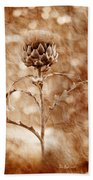 Artichoke Bloom Bath Towel