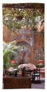Artists' Studio In Sorrento Italy  Hand Towel