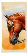 Precision - Horse Painting Hand Towel