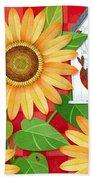 Sunflower Surprise Bath Towel