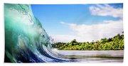 Tropical Wave Bath Towel