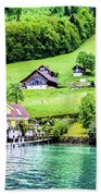 Switzerland  Bath Towel