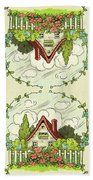 The House At The End Of Storybook Lane Bath Towel