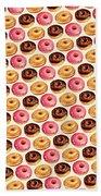 Donut Pattern Hand Towel