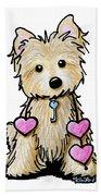 Heartstrings Cairn Terrier Hand Towel