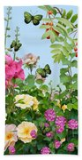 Wild Garden Bath Towel