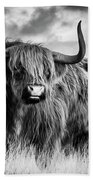Highland Bull Bath Towel