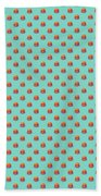Burger Isometric - Plain Mint Hand Towel
