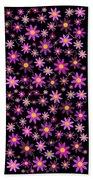 Purple Polka Bath Towel