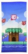 Adventure Kirby Bath Towel