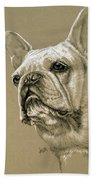 French Bulldog Bath Towel