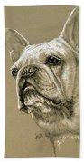 French Bulldog Bath Towel