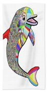 Dolphin - The Devil's In The Details Bath Towel